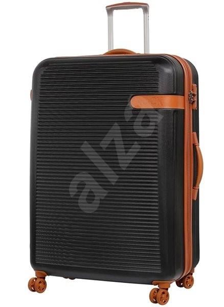 4e020b1c92fe5 Rock Valiant TR-0159/3-XL ABS – čierna - Cestovný kufor s