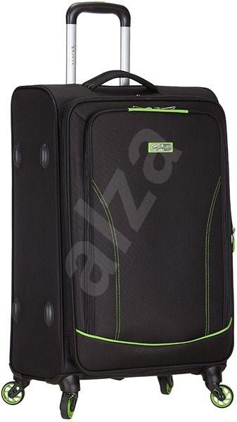 051d36498287e Azure Spirit T-1115/3-M - čierna / zelená - Cestovný kufor | Alza.sk