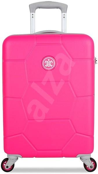 Suitsuit TR-1248/3-S ABS Caretta Hot Pink - Cestovný kufor