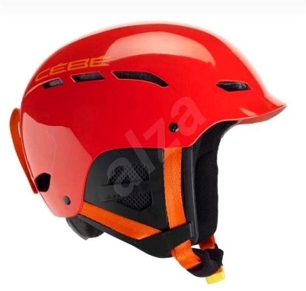 Cébé Dusk RTL - Red veľ. 55 – 58 cm - Detská lyžiarska prilba  5d2bf8ddbeb