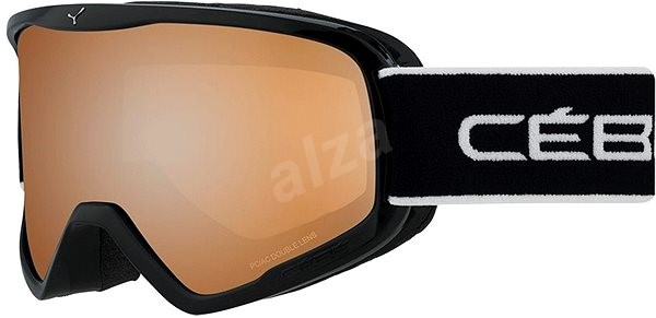 Cébé Striker Full Black-Orange Flash Mirror veľ. L - Lyžiarske okuliare