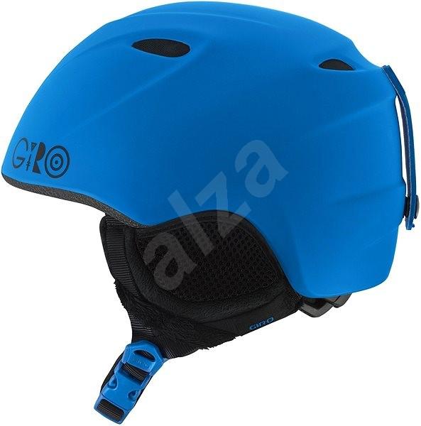 GIRO Slingshot Mat Blue - Detská lyžiarska prilba  d9a86bbaf19