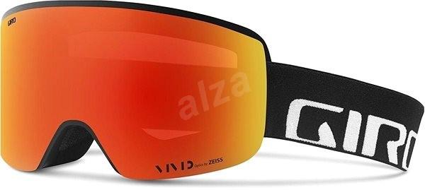 GIRO Axis Black Wordmark Viv Ember Viv Infrared - Lyžiarske okuliare ... 0457eb458c0
