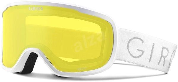 GIRO Moxie White Grey Cobalt Yellow veľ. S M - Lyžiarske okuliare ... 19f882ac710