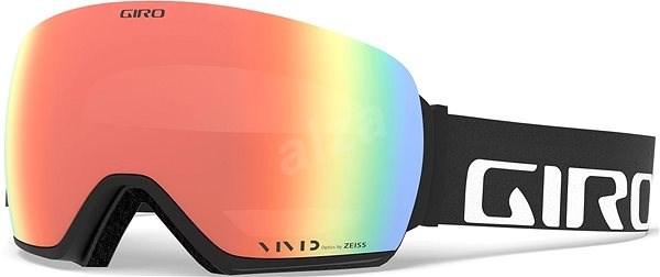 GIRO Article Black Wordmark Vivid Ember Vivid Infrared (2 sklá) - Lyžiarske  okuliare e2926051760