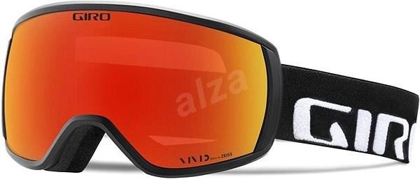 GIRO Balance Black Wordmark Vivid Ember - Lyžiarske okuliare  ae1cef542ea