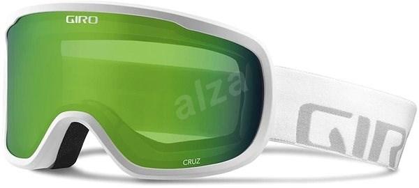 66ef69f57 GIRO Cruz White Wordmark Loden Green - Lyžiarske okuliare | Alza.sk