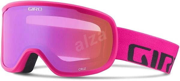 GIRO Cruz Bright Pink Wordmark Amber Pink - Lyžiarske okuliare  7917d6604ef