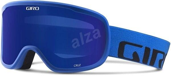 GIRO Cruz Blue Wordmark Grey Cobalt - Lyžiarske okuliare  dba63b6ba68