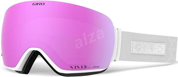 758428a33 GIRO Lusi White Velvet Vivid Pink/Vivid Infrared (2 sklá) - Lyžiarske  okuliare