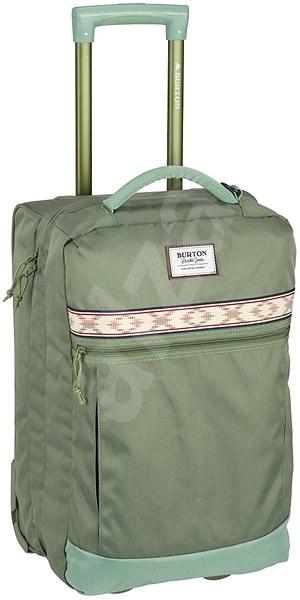 Burton Overnighter Roller Clover Ripstop - Cestovný kufor s TSA zámkom