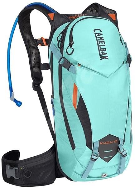 7e6a33a2ca CamelBak KUDU Protector 10 Lake Blue Laser Orange S M - Športový batoh