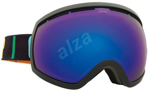 ELECTRIC EG2 COLOR WORDMARK brose blue chrome - Lyžiarske okuliare ... 48520b8d661