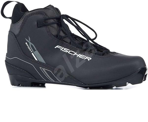 Fischer XC SPORT BLACK veľkosť 44 EU/ 285 mm - Topánky na bežky