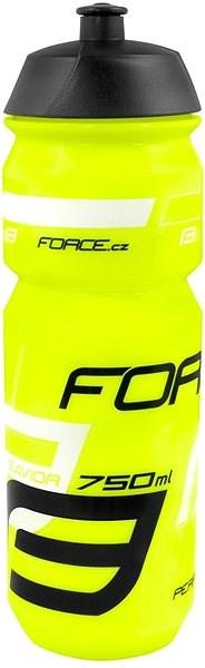 Force Savior 0,75 l, fluo-čierno-biela - Fľaša na vodu