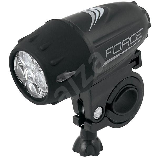 Force Rank 13 lm Batéria, Čierne - Svetlo na bicykel