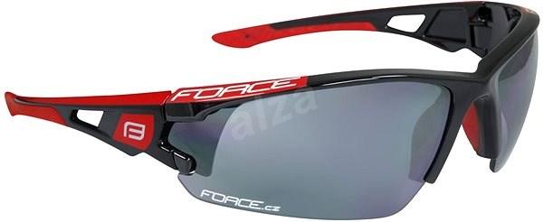 Force CALIBRE čierno-červené, čierne laser sklá - Okuliare