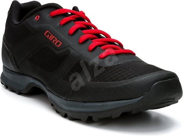 GIRO Gauge Black/Bright Red 43 - Tretry