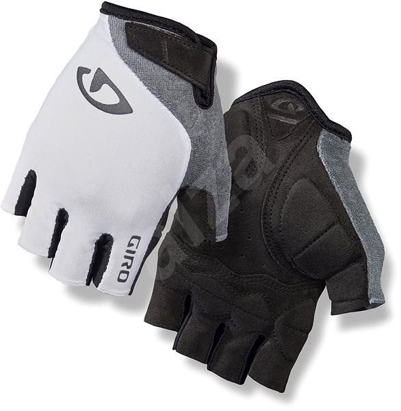 Giro Jag'Ette White/Titanium M - Cyklistické rukavice