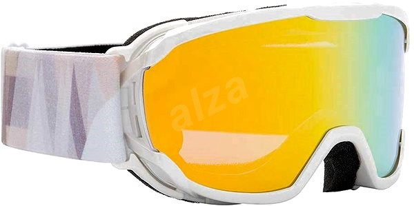 Alpina Pheos JR MM biela oranžová - Okuliare  cfb7c07a08b