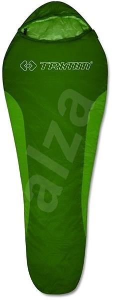 Trimm Cyklo Green/Mid.green 195 ľavý - Spací vak