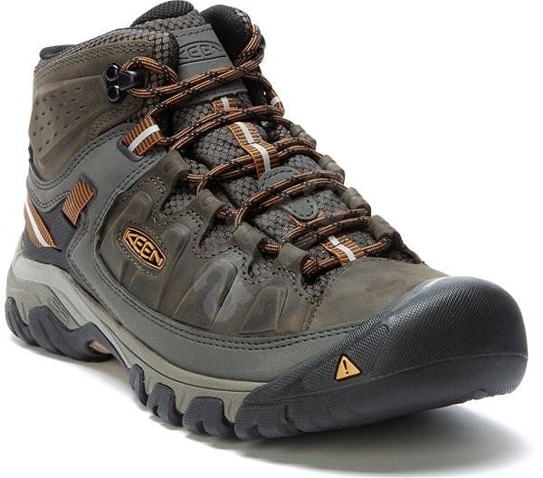 KEEN TARGHEE III MID WP M black olive/golden brown EU 47/294 mm - Outdoorové topánky
