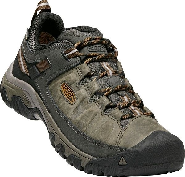 KEEN TARGHEE III WP M black olive/golden brown EU 45/283 mm - Outdoorové topánky