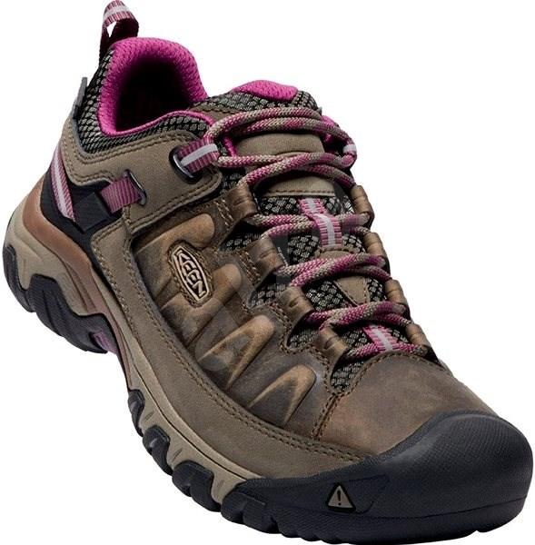 KEEN TARGHEE III WP W weiss/boysenberry EU 40,5/259 mm - Outdoorové topánky