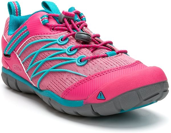 Keen Chandler CNX JR. bright pink/lake green EU 37/232 mm - Outdoorové topánky