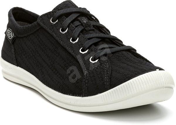 Keen Lorelai Sneaker Hemp W black EU 39,5/251 mm - Outdoorové topánky