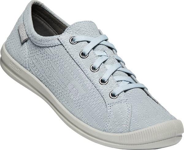 Keen Lorelai Sneaker Hemp W blue EU 37/230 mm - Outdoorové topánky