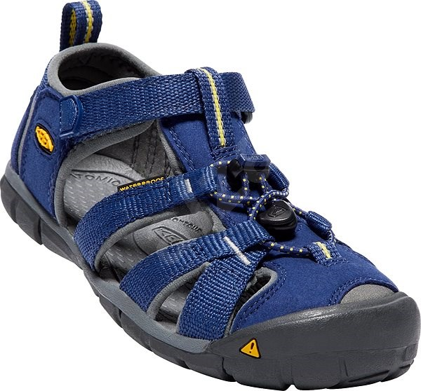 Keen Seacamp II CNX JR. blue depths/gargoyle EU 36/222 mm - Sandále