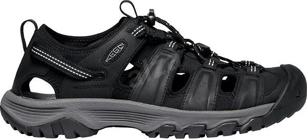 Keen Targhee III Sandal M black/grey EU 44,5/279 mm - Outdoorové topánky