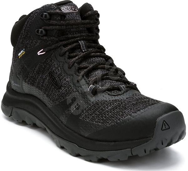 Keen Terradora II Mid WP W black/magnet EU 38,5/241 mm - Outdoorové topánky