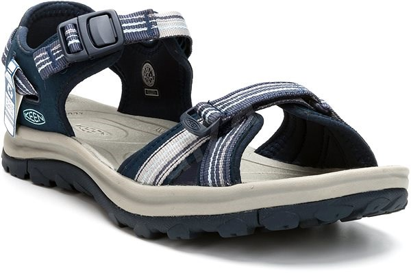 Keen Terradora II Open Toe Sandal W navy/light blue EU 37/230 mm - Sandále
