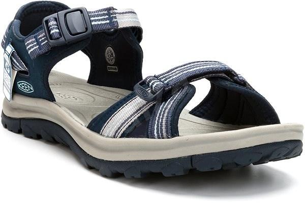 Keen Terradora II Open Toe Sandal W navy/light blue EU 39,5/251 mm - Sandále