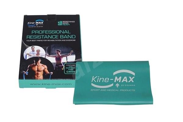 KINE-MAX PROFESSIONAL RESISTANCE BAND – LEVEL 3 – ZELENÁ (ŤAŽKÁ) - Posilňovacia guma