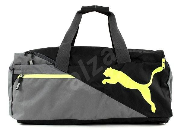 1943bf0d5 Puma Fundamentals Sports Bag M Quiet Shade-Sa - Športová taška | Alza.sk