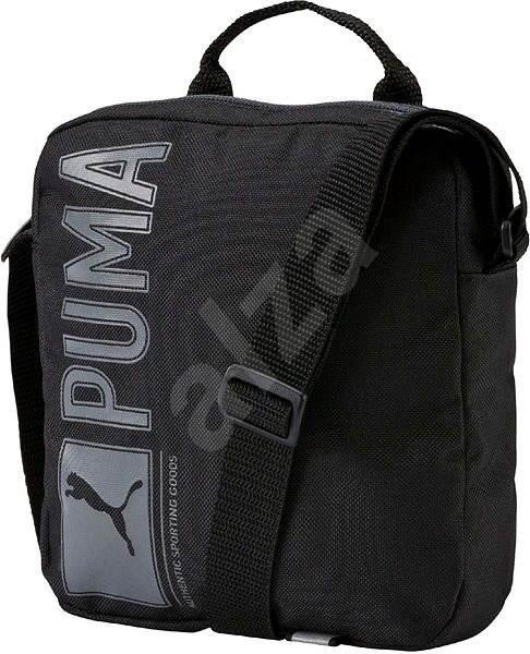 c048b708a Puma Pioneer Portable Black - Taška cez rameno | Alza.sk