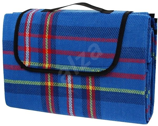Calter Party pikniková, modrá kocka - Pikniková deka