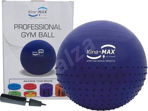 Kine-MAX Professional GYM Ball - modrý - Gymnastická lopta