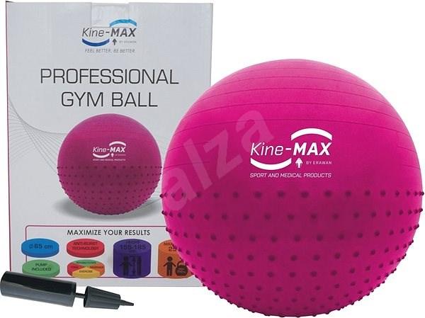 Kine-MAX Professional GYM Ball  - růžový - Gymnastická lopta