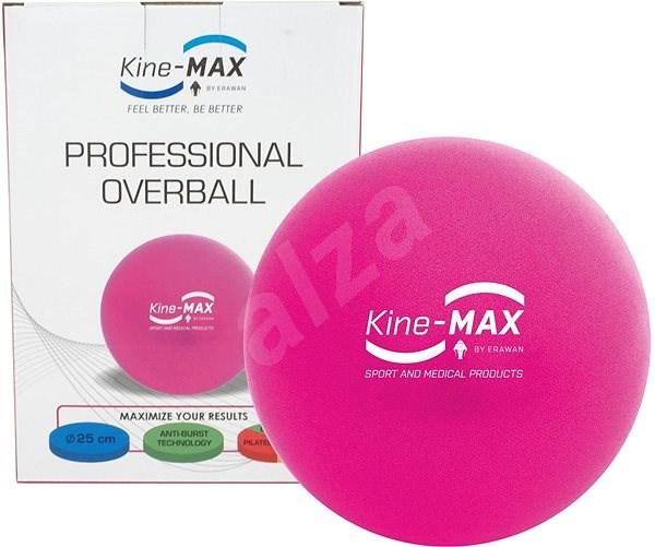 Kine-MAX Professional OverBall – ružová - Gymnastická lopta