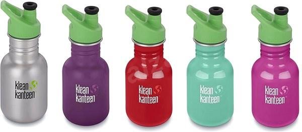 Klean Kanteen Kid Classic w Kid Sport Cap 3.0 355 ml - Fľaša na vodu ... 22ccc5610ca