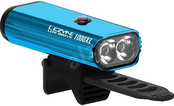 Lezyne LITE DRIVE 1000XL BLUE/HI GLOSS - Svetlo na bicykel
