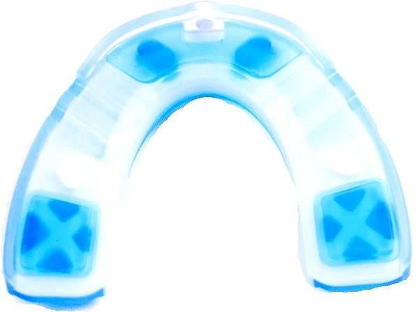 Shock Doctor Nano 3D dospelí/transparentná modrá - Chránič zubov