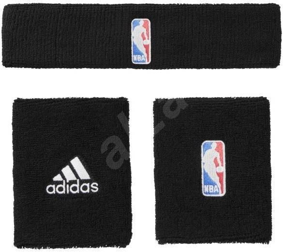 d2f0e8954b6 Adidas NBA Potítko Prus Čelenka Black Youth - Sada
