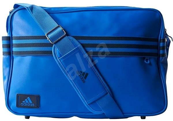 4c6b12e9f6 Adidas Messenger Enamel 3-Stripes Blue - Taška cez rameno