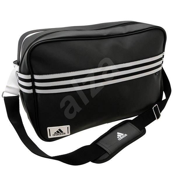 94648b343d Adidas Messenger Enamel 3-Stripes Black - Taška cez rameno