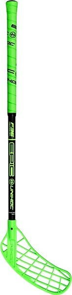 Unihoc Epic Youngster 36 green/black 60 cm L-16 - Florbalová hokejka